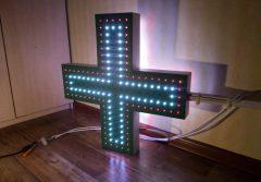 Аптечный крест вывеска
